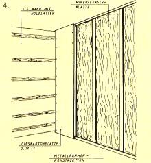 massiv fertighaus innenausbau und w rmed mmung. Black Bedroom Furniture Sets. Home Design Ideas